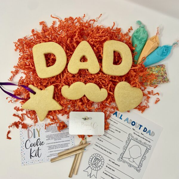 Fathers day duo cookies