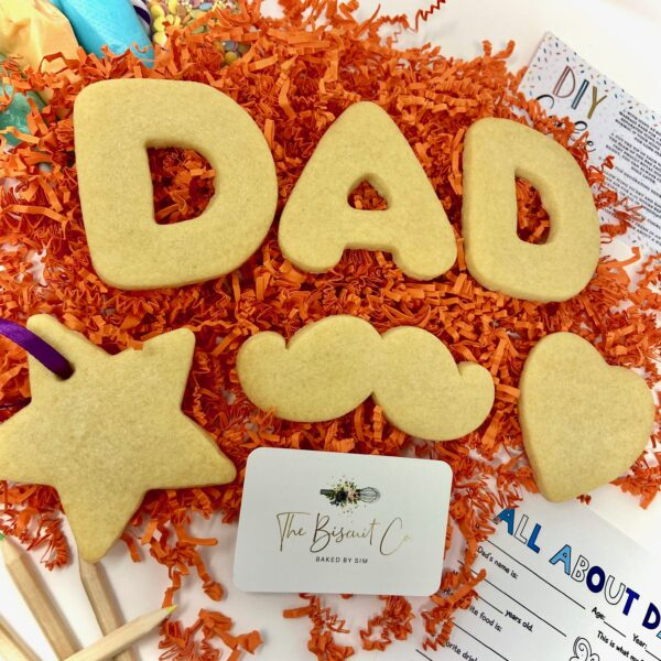 fathers day cookies gift
